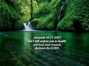 Jeremiah 30--17