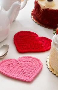 Valentine Heart Coasters photo