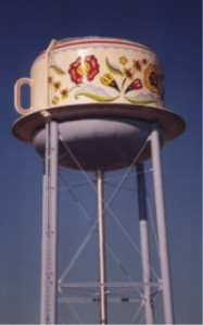 Stanton, Iowa Swedish Coffee Cup water tower