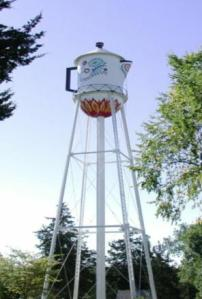 Stanton, Iowa Swedish Coffeepot Water tower