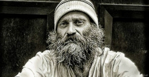 Pastor dresses as a homeless man...